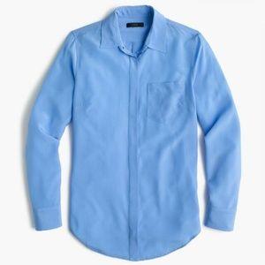 J.Crew Silk Button up shirt, 0